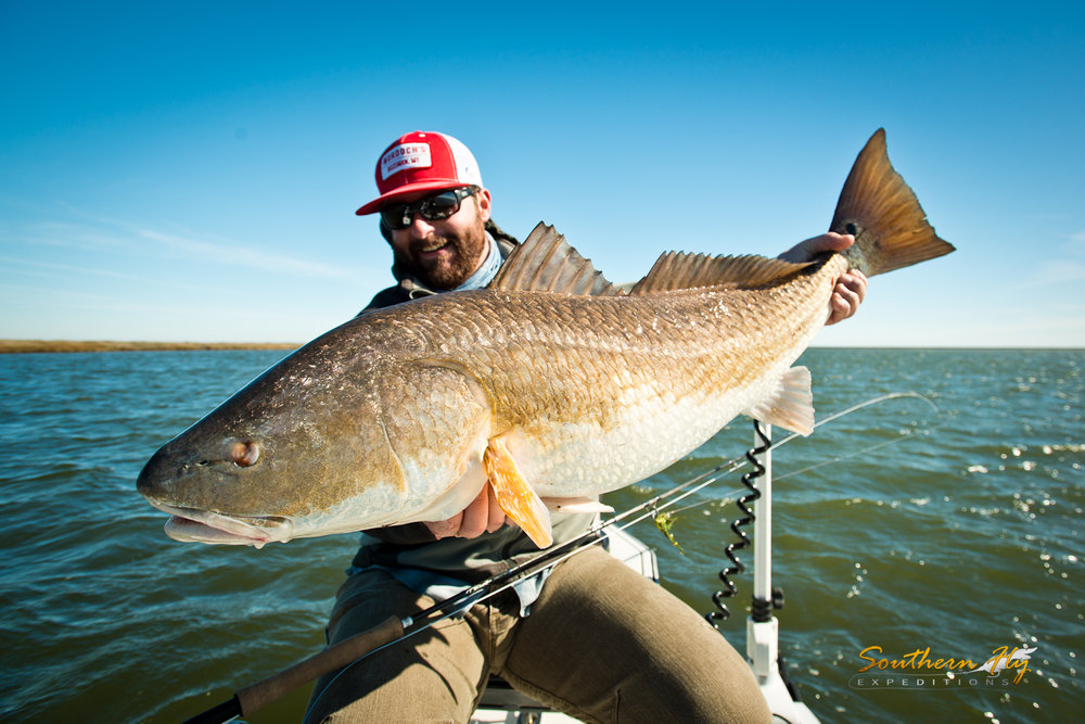 Fly Fishing Reds New Orleans Southern Fly Expeditions