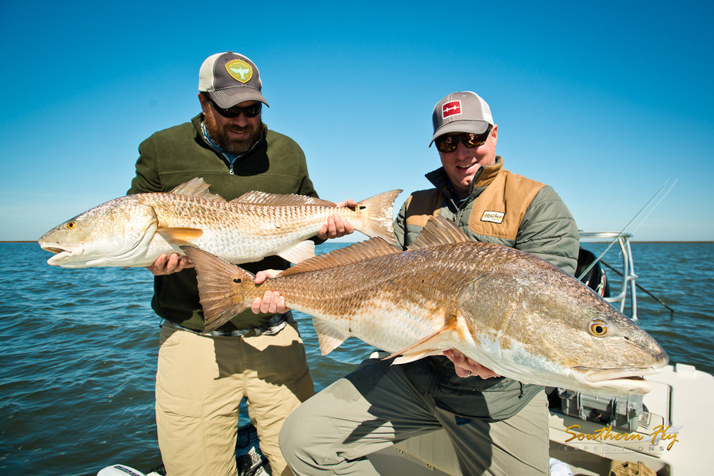 fly fishing new orleans trip with Southern Fly Expeditions