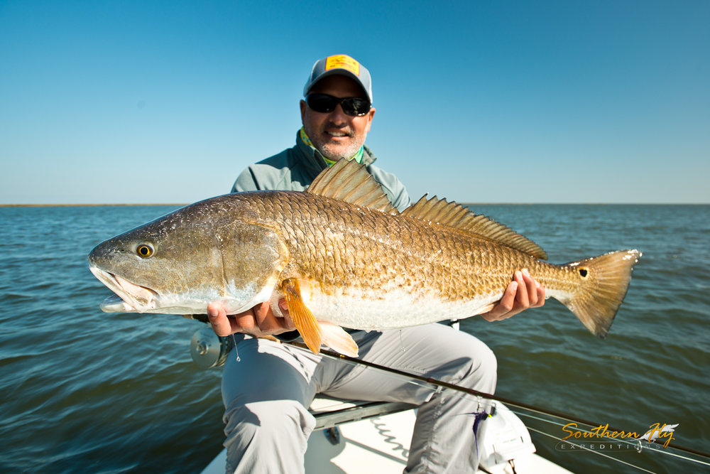 Light Tackle Catch and Release Fly Fishing Guide Redfish Southern Fly Expeditions