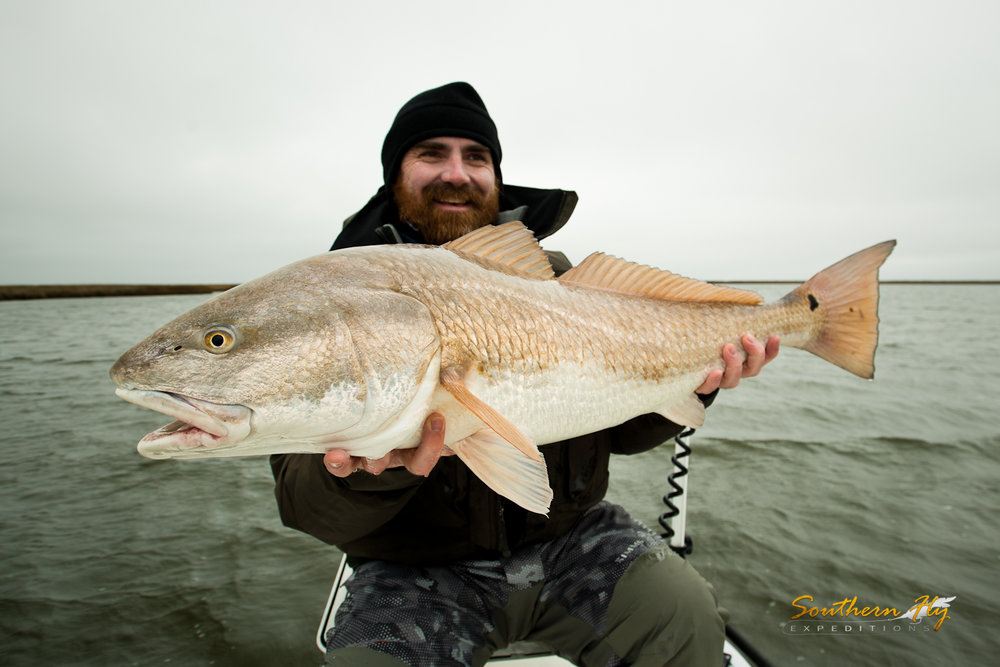 Redfish Fly Fishing Trip New Orleans Charter Southern Fly Expeditions