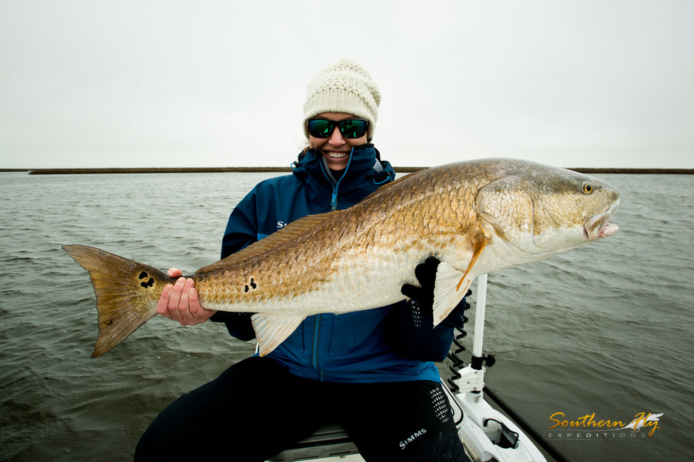 Redfish Fly Fishing Charter New Orleans Southern Fly Expeditions