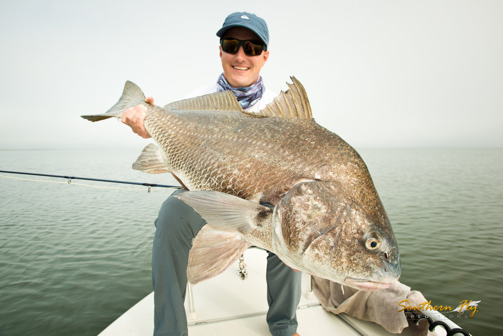Monster Reds Fly Fishing Guide New Orleans Southern Fly Expeditions