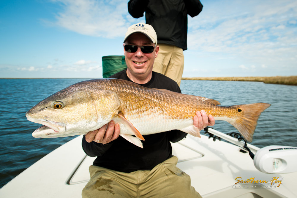 Marsh Fly Fishing Guide Southern Fly Expeditions Louisiana