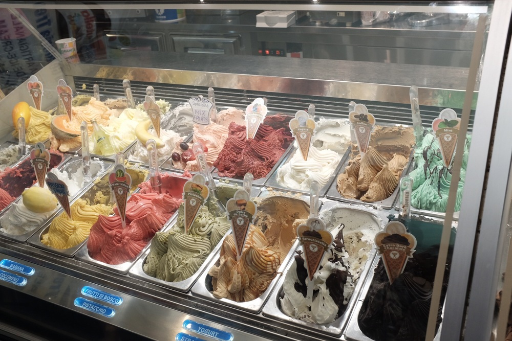 Gelato of course
