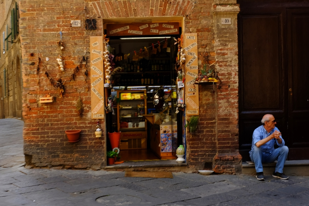 Small shop in Siena