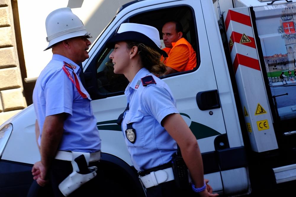 Pisa Polizei
