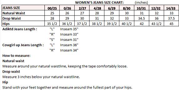 womens jeans size - Jean Yu Beauty