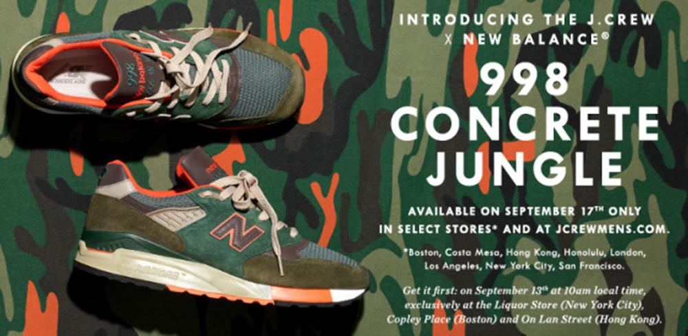 New Balance 998 - 'Concrete Jungle'