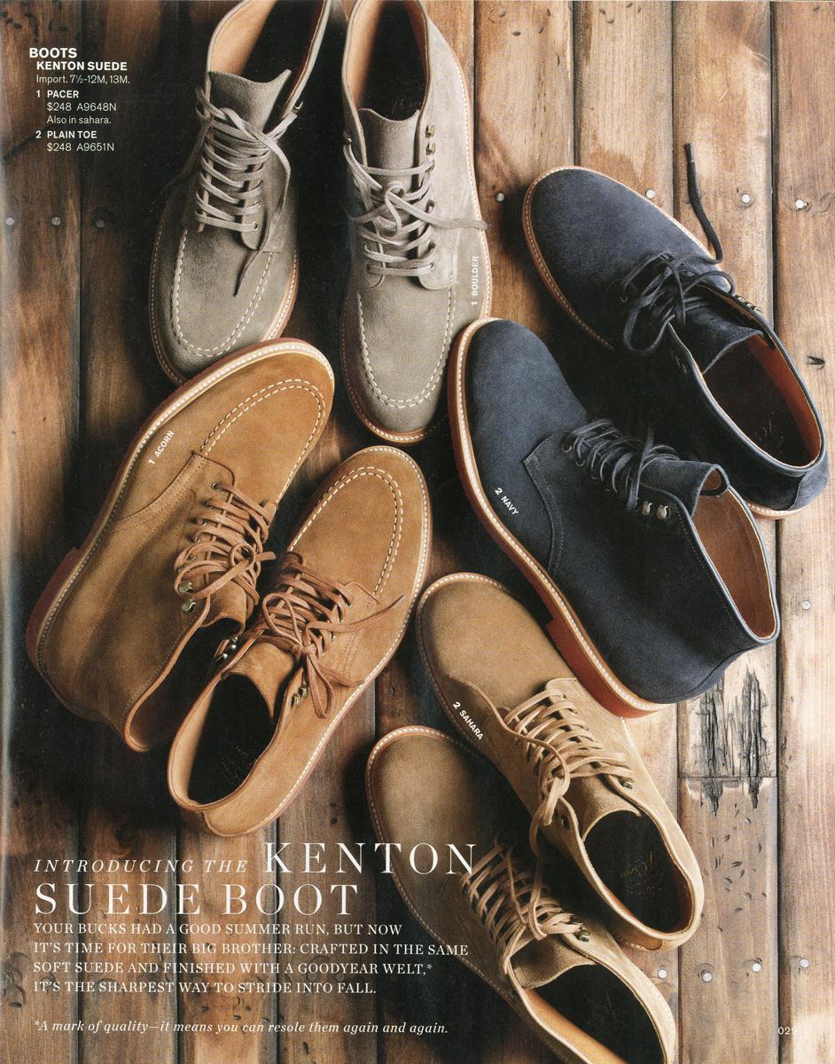 Kenton suede boots