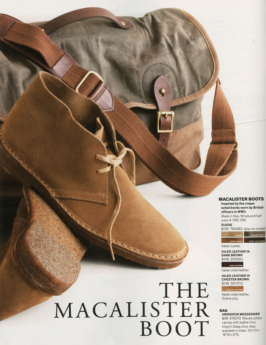 Macalister boot
