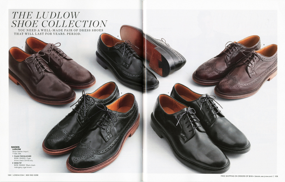 Ludlow shoe collection