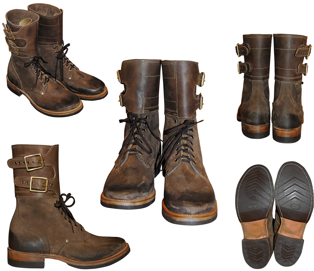 RRL Infantry Boots (Lebron bought these!)