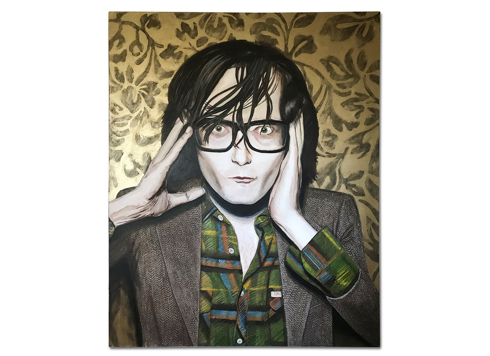 Jarvis (2008) -  Acrylic + Oil on Canvas