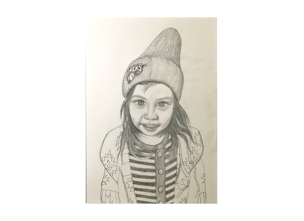 Bonnie (2015) -  Pencil on Paper