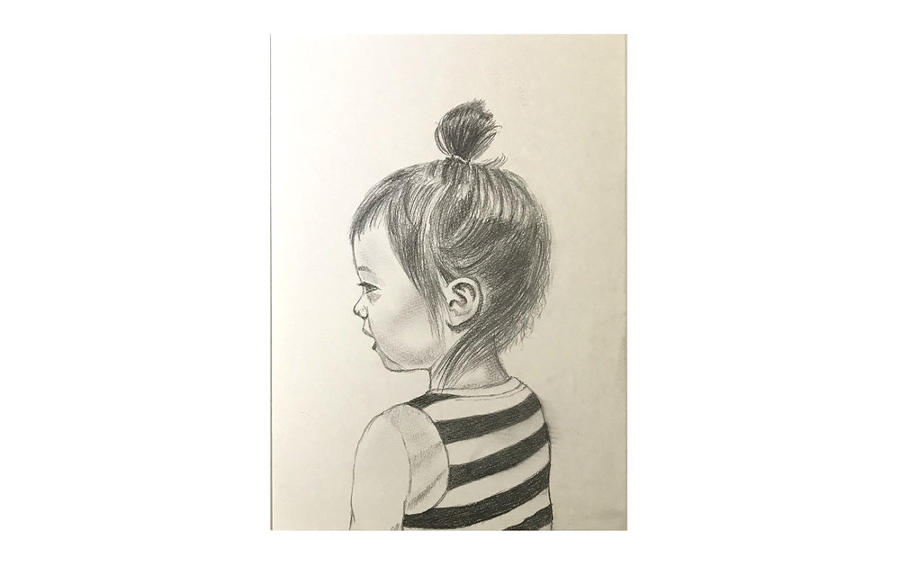 Bonnie (2014) -  Pencil on Paper