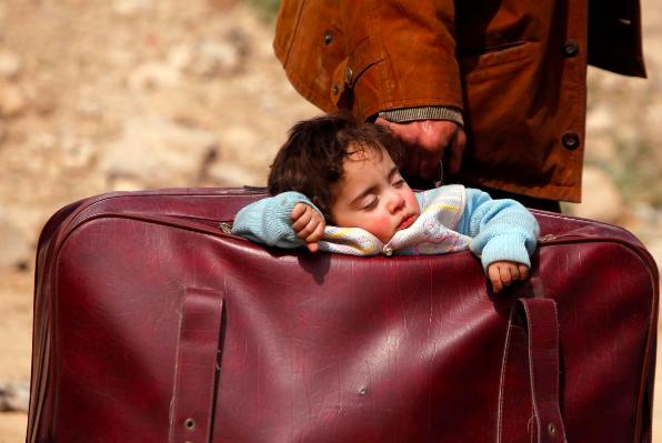 Eastern Ghouta, Syria March 15, 2018. REUTERS/Omar Sanadik