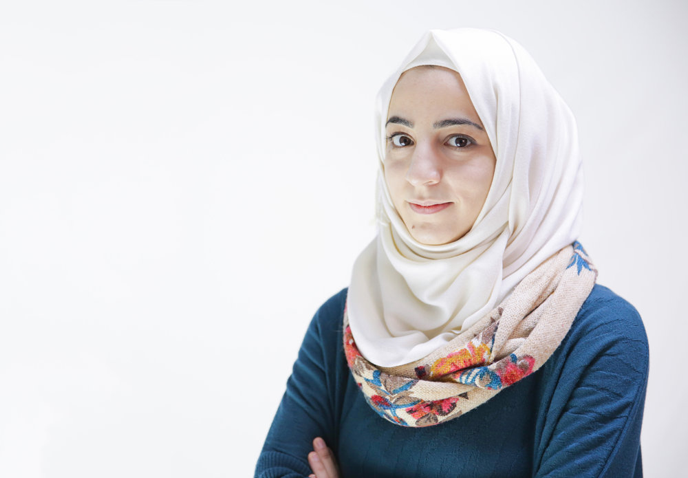 Nour Razraz  has a bachelor's degree in civil engineering from Aleppo University and now lives with her family in the Turkish town of Reyhanli. Nour joined Karam Foundation in January 2017 as a mentor looking forward to help Syrian children. She hopes to make a unique impact with Karam and to improve her skills in civil engineering. In her spare time, Noor spends her free time reading, improving her English, and having fun with friends. She also loves to exchange her opinions, ideas, and experiences with others.
