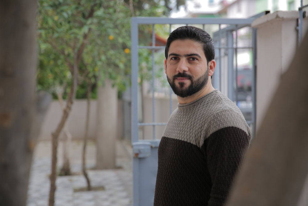 Mohammed Motiah  is from Latakia, Syria. He earned a degree in education from Tishreen University in 2012. While living in Syria, Mohammed taught primary school and then worked for several medical organizations to help Syrians in the northern Syria, like Doctors Without Borders and Union of Medical Care and Relief Organizations. In the beginning of 2016, Mohammed was forced to leave Syria because of the intensity of the war, and he settled in Turkey, where he began working for the International Organization of Migration. In 2017, he joined the Karam team. Mohammed is looking forward to continuing his higher education and is very fond of swimming, exploring, and travel.