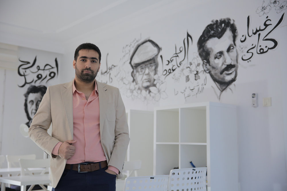 Hosam Alshikhoni  is originally from Hama, Syria and studied civil engineering at Aleppo University. In 2015, he moved to Turkey and served as a translator and logistic coordinator for two years for various relief organizations. In 2017, when he heard about Karam Foundation, he was so excited to join the team and work on Karam's mission to develop innovative education programs for Syrian refugee youth in order to build a new future for Syria. He is looking forward to ensuring a better future for Syrian youth.