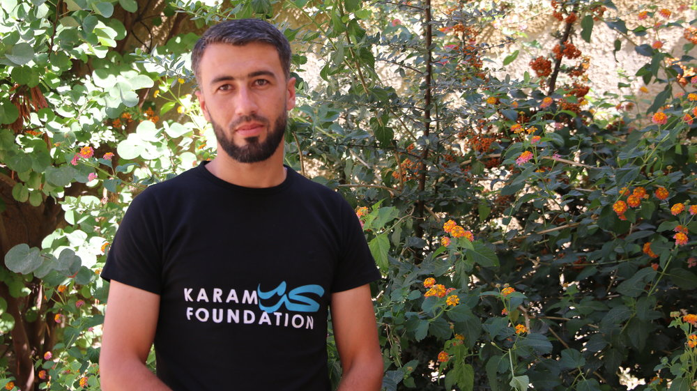Hassan Alhassan  has a Bachelor's of Arts in english literature from Damascus University and has worked with a variety of human rights organizations including: learning initiative (CHIMONICS), Ghiras Alnahda, and Syria Relief organization. He is dedicated to advancing the cause of education and served as a facilitator at Bousla for Innovation & Training and as an official statistician in Kafr Nobol Educational Assembly. He has also received training on the guiding principles of protection committees in society, education in emergencies, psychosocial support, and inclusive education. When he has the time, Hassan loves playing volleyball.