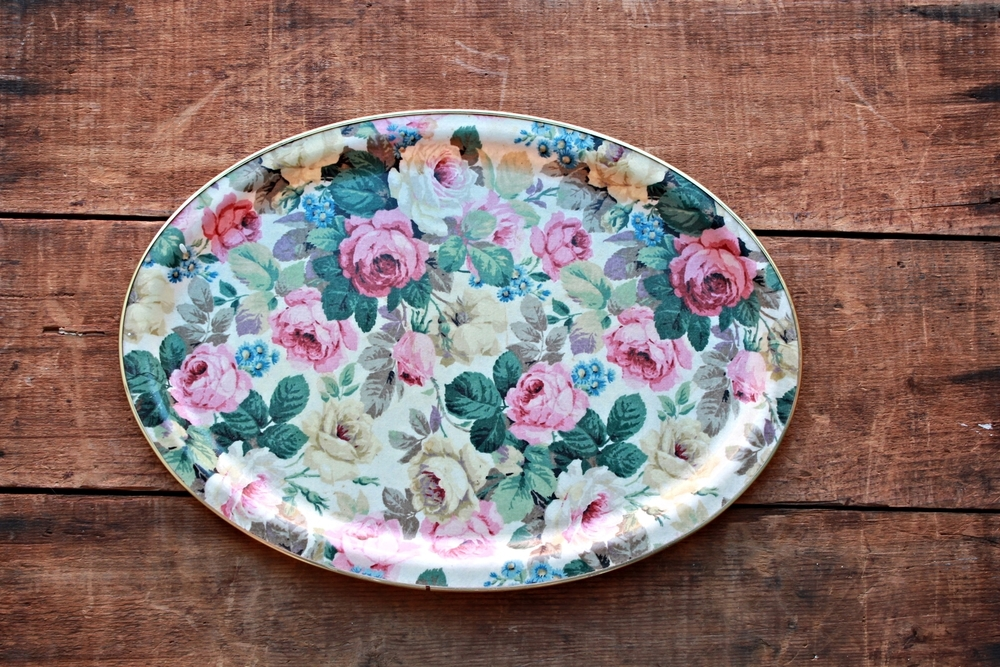 Vintage  Pattern Trays