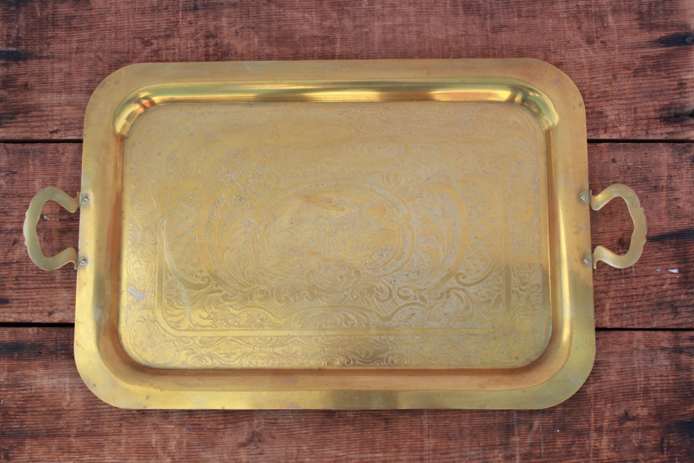 Brasss + Silver Trays