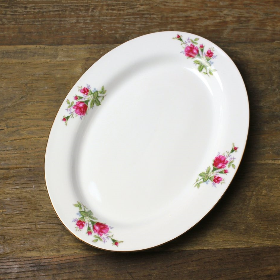 Rose Collection Serving Platter