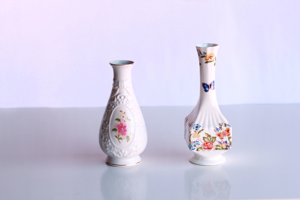 Small Porcelain Vases