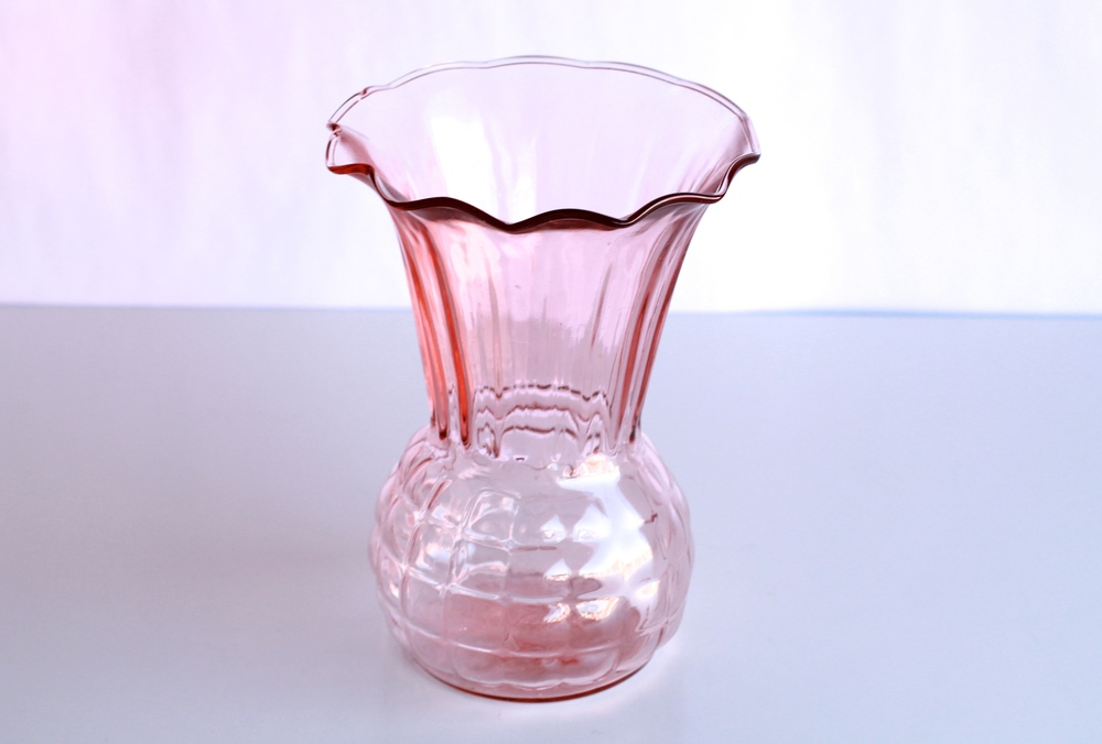 Large Colorful Glass Vases