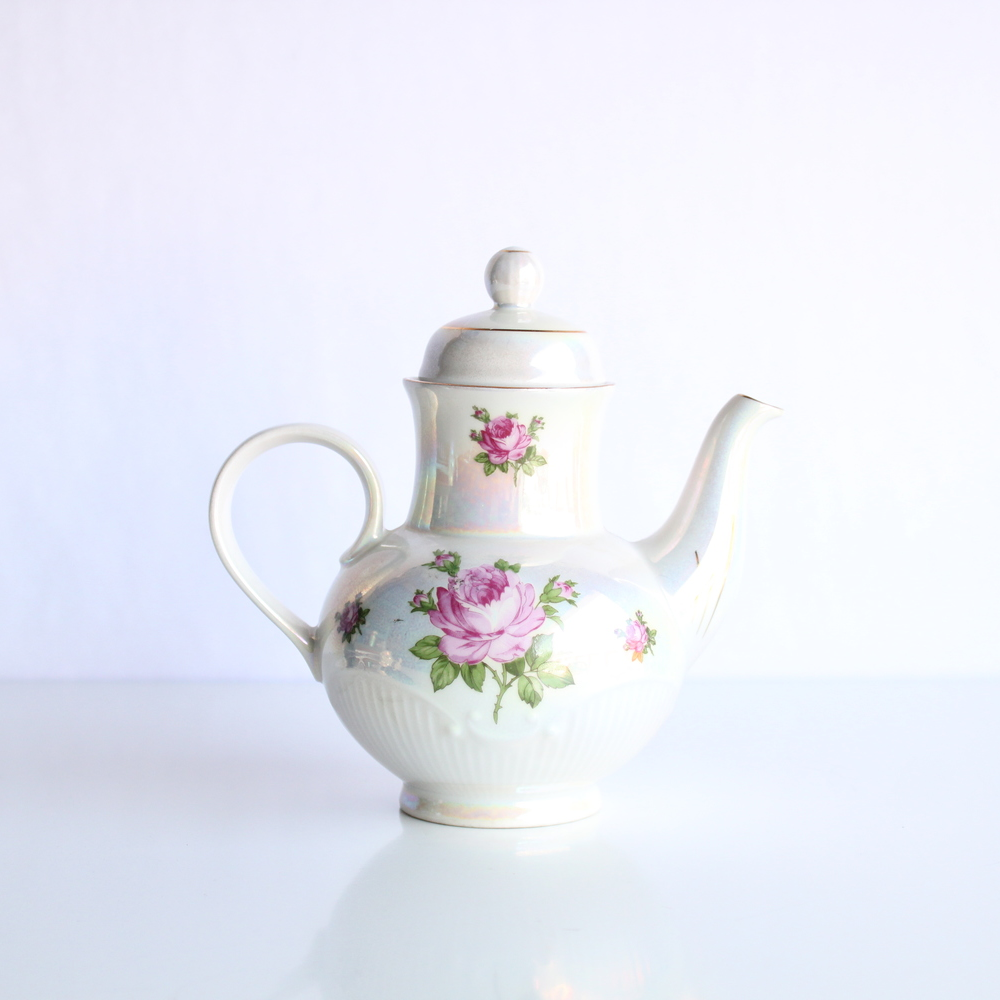 Rose Collection Teapot