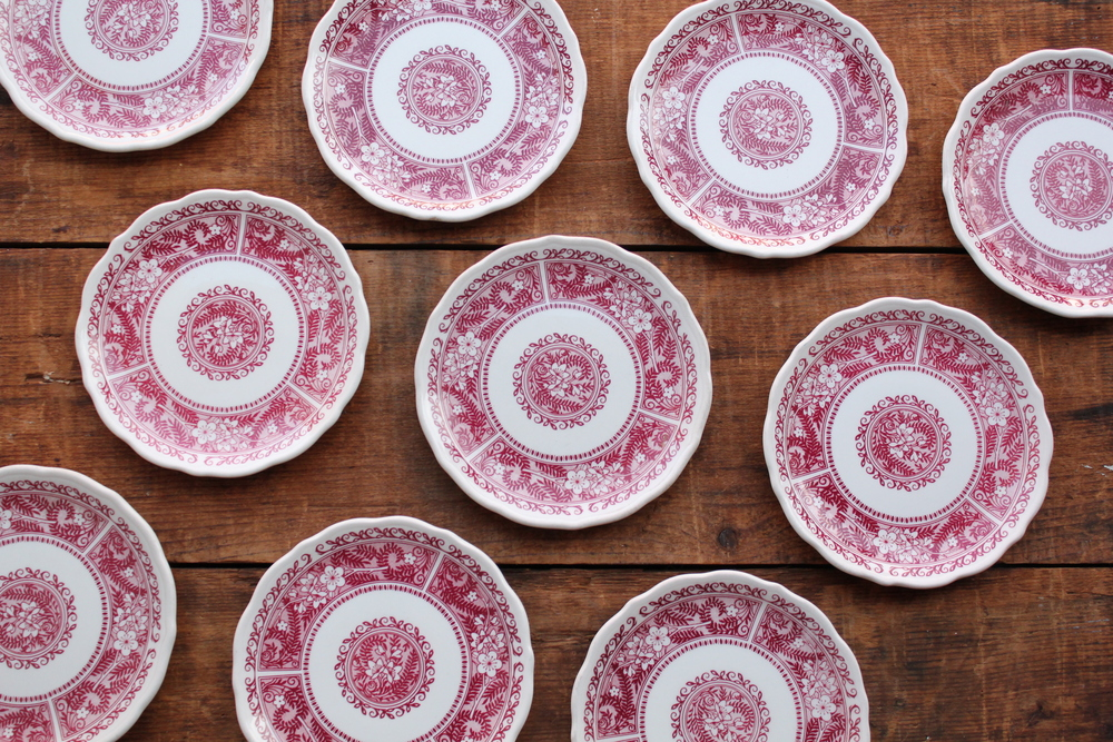 Strawberry Hill Dessert Plates