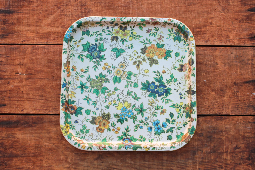 Square Floral Tray