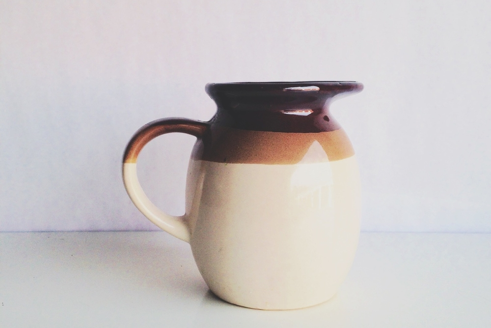 Stoneware Pitchers + Vases