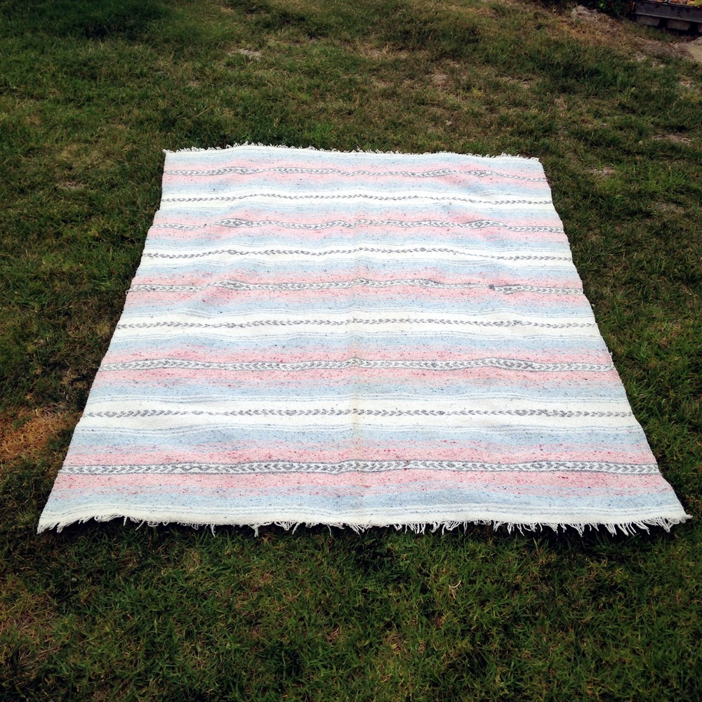 Pastel Mexican Blankets