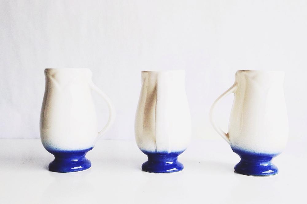 Small Stoneware Vases