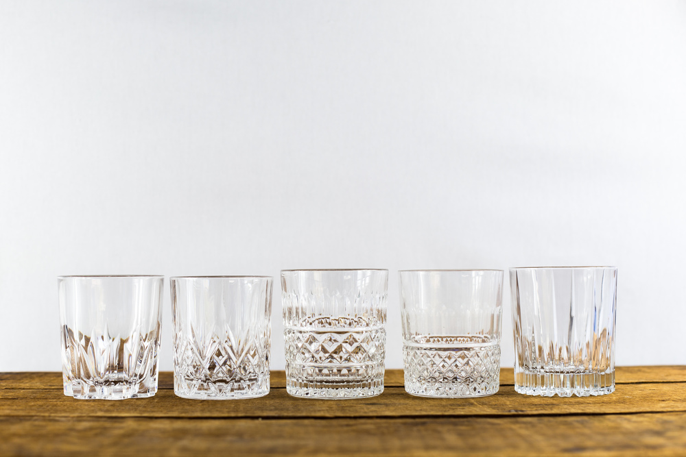 Vintage Rocks Glasses