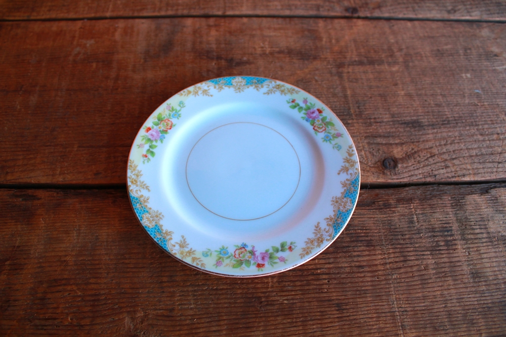 Garden Collection Bread/Dessert Plates