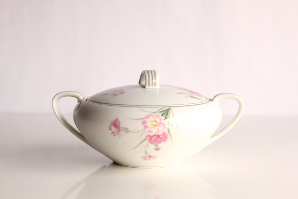 Garden Collection Sugar Bowl