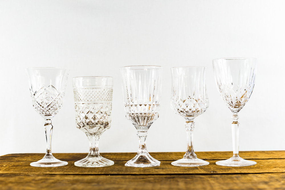 Vintage Water Goblets