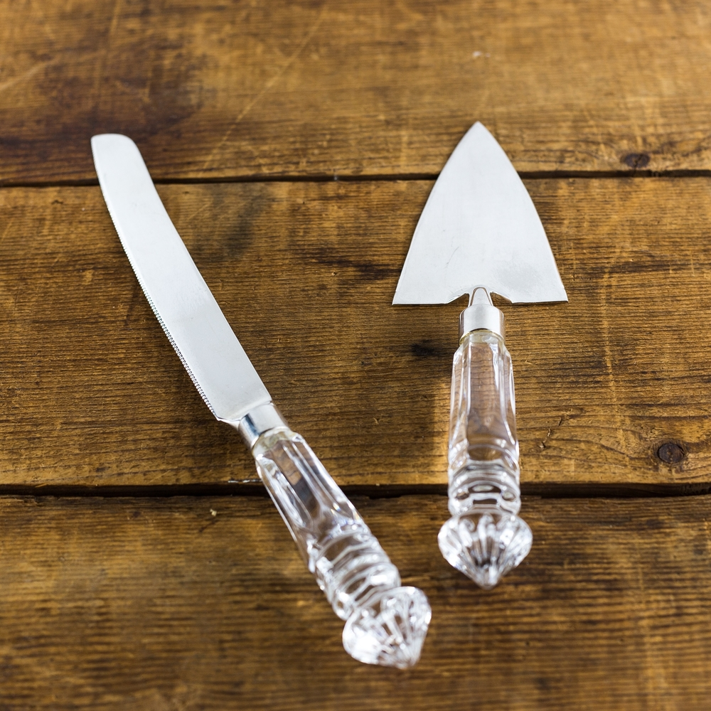 Crystal Cake Knife