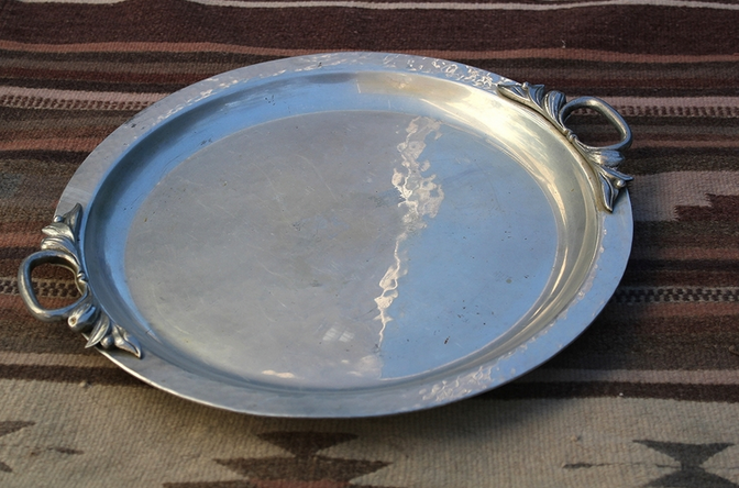 Vintage Pewter Platters