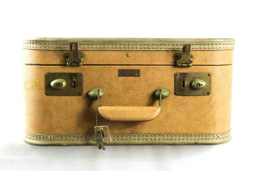 Small Brown Suitcase