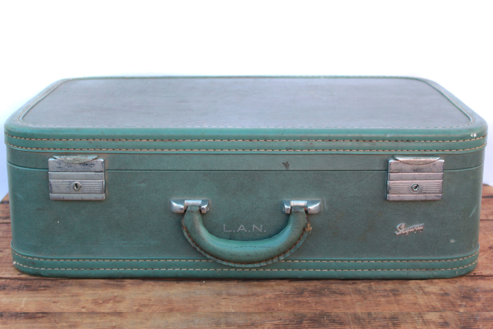 Trunks   Suitcases — Otis   Pearl Vintage Rentals