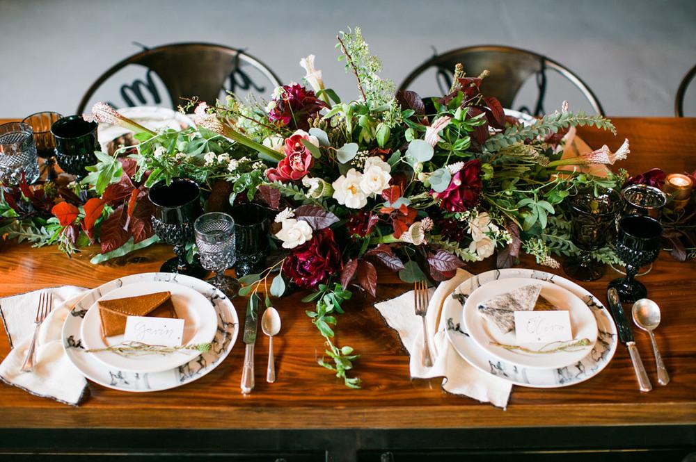 Industrial Mid-Century Wedding