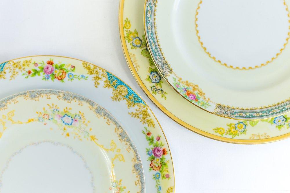 GARDEN COLLECTION & Vintage China + Stoneware u2014 Otis + Pearl Vintage Rentals