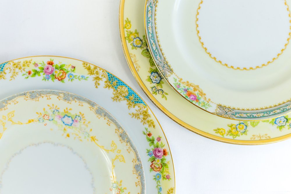 Garden Collection Dinner Plates