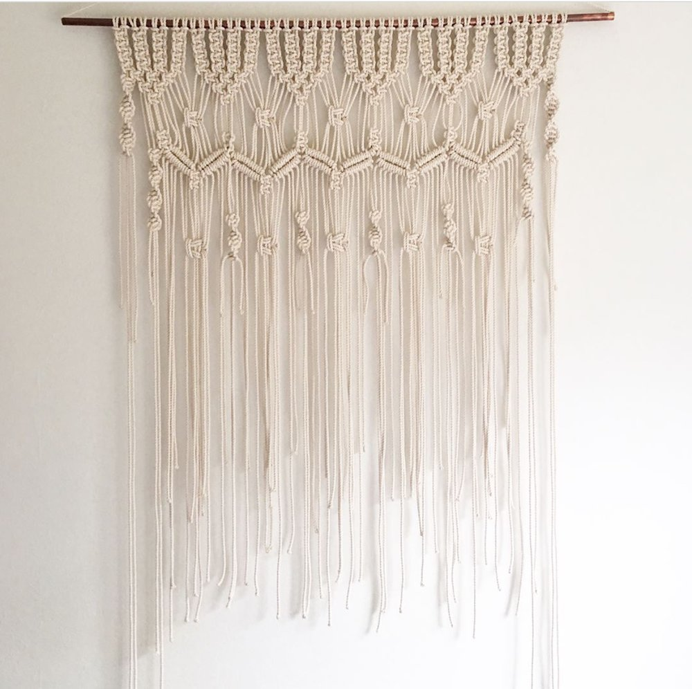 Large Hanging Macrame