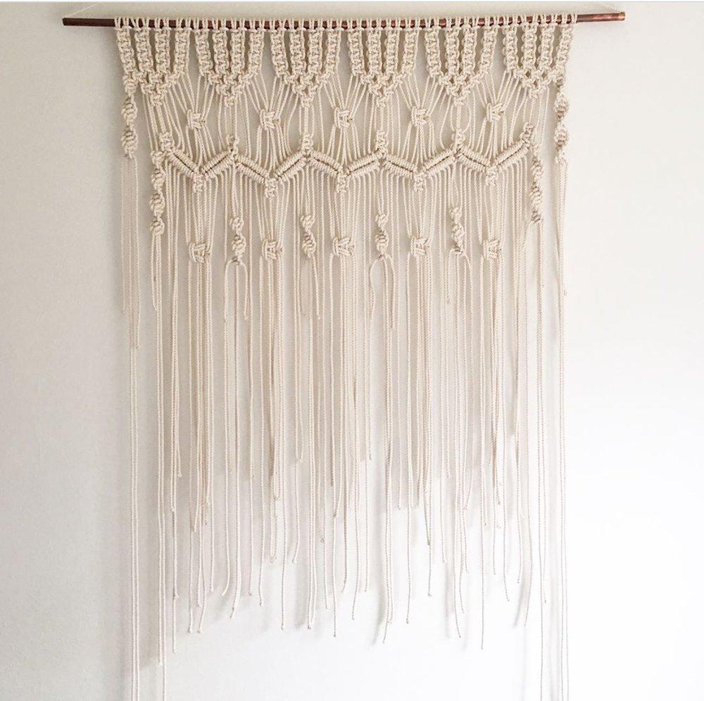 Large Hanging Macrame