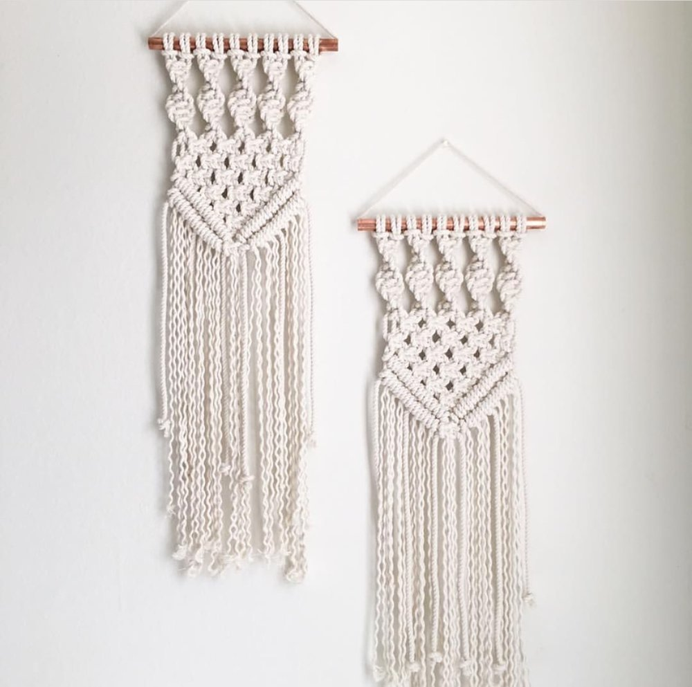 Small Hanging Macrame