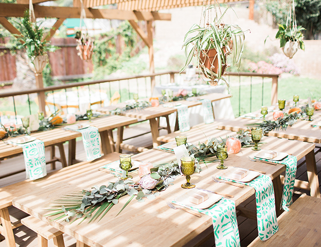Modern & Earthy Safari Baby Shower